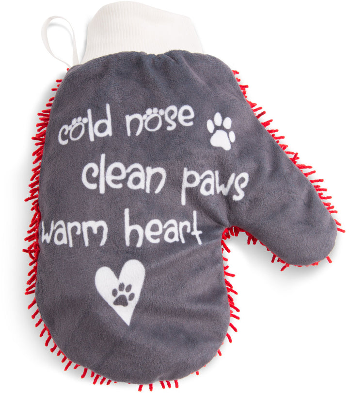 Warm Heart Microfiber Pet Cleaning Mat - Freedom Day Sales