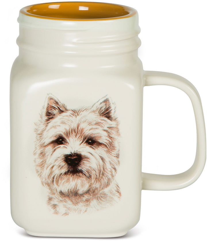 West Highland White Terrier 21oz. Mug