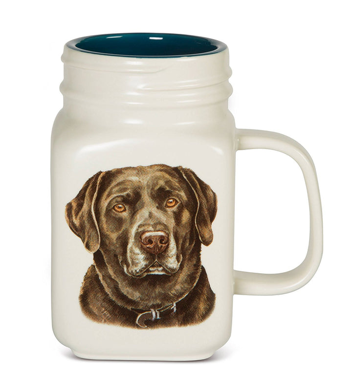 Chocolate Labrador 21oz. Mug