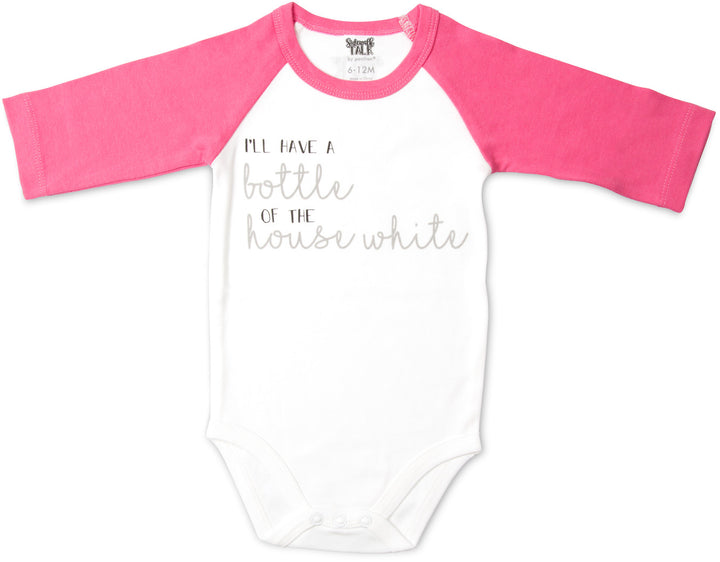 House White Baby Body Suit - Freedom Day Sales