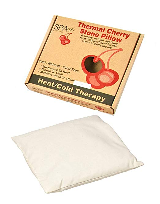 Organic Cloth Cherry Stone Thermal Pillow