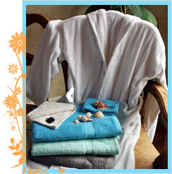 100% Viscose of Bamboo Bath Towel Set-Sage Blue