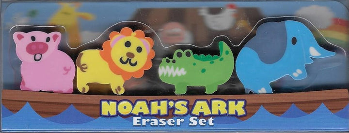 Noah's Ark Eraser Set - Freedom Day Sales
