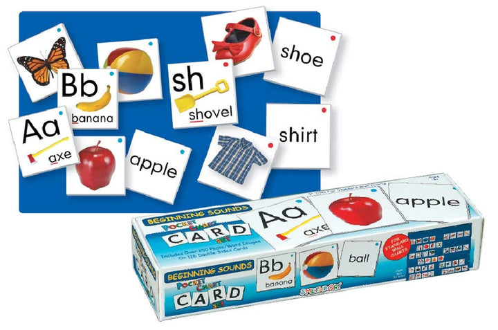 Smethport Lauri Pocket Chart Cards - Beginning Sounds