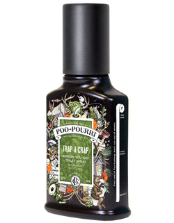 Poo-Pourri Before-You-Go Toilet Spray 4 oz Bottle, Trap-A-Crap Scent