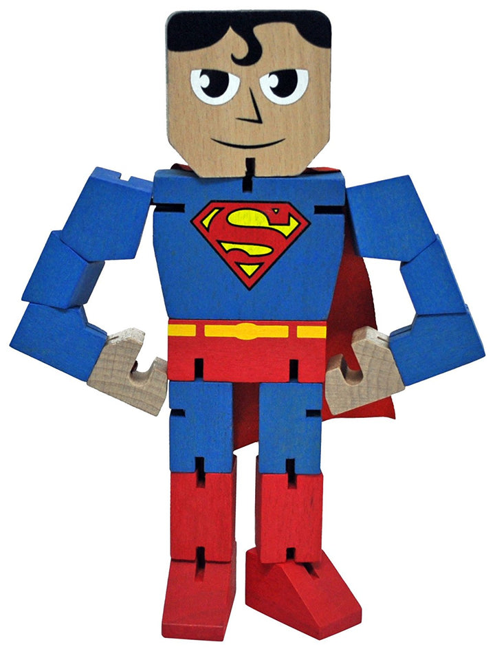 DC Comics Superman Wooden Warriors Doll 8