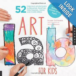 Art Lab for Kids: 52 Creative Adventures in Drawing, Painting, Printmaking, Paper, and Mixed Media-For Budding Artists of All Ages (Lab Series) Paperback