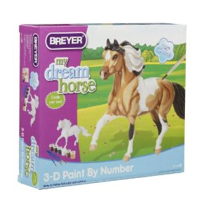 Breyer Horses Paint Your Own 3D Paint By Number Horse