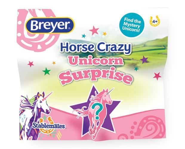 Breyer Stablemates Mystery Unicorn Surprise Blind Bag, Single