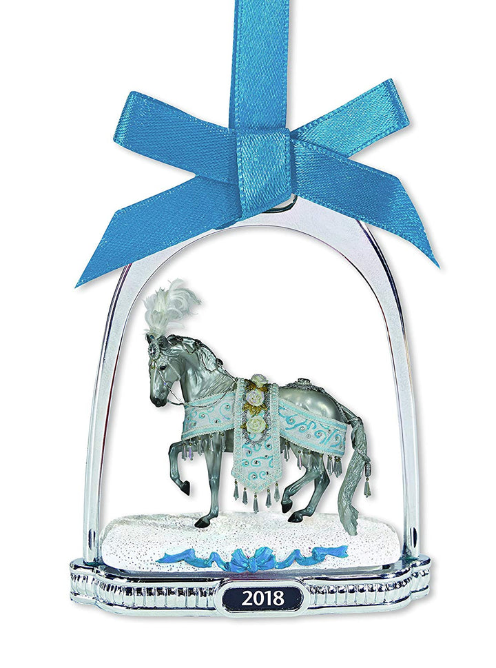 Breyer Horse Celestine 2018 Holiday Horse Stirrup Ornament