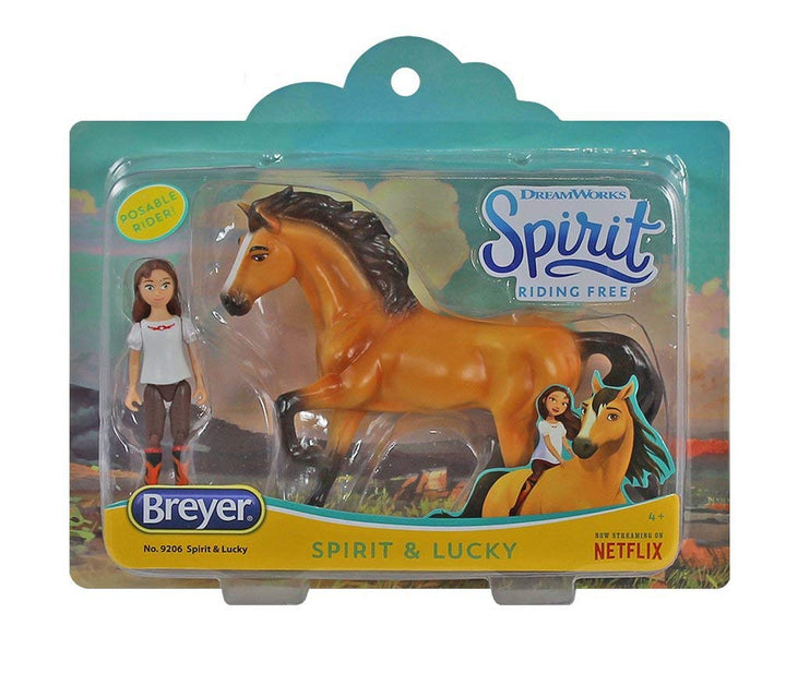 Breyer Horses Spirit and Lucky Small Gift Set