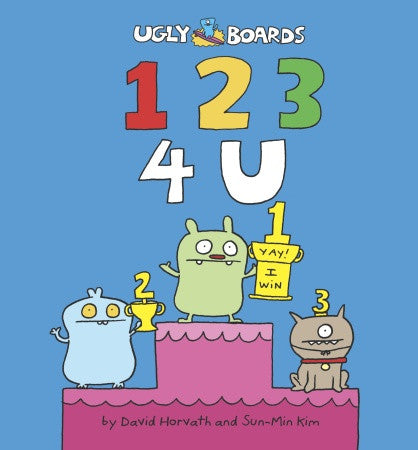 1 2 3 4 U Board Book by David Horvath and Sun-Min Kim
