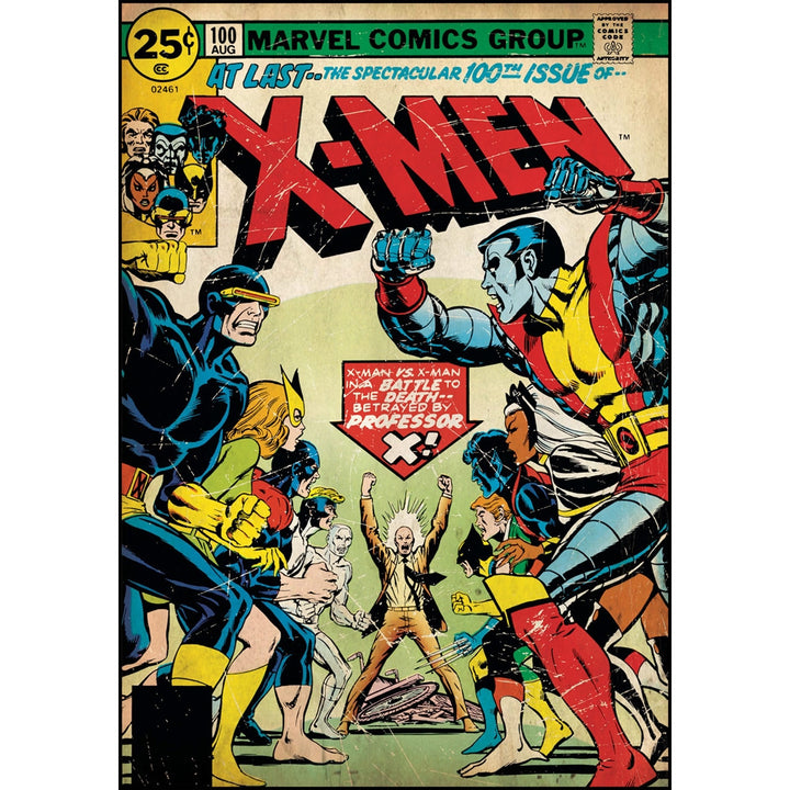 X-Men Issue #100 Comic Cover Giant Wall Decal