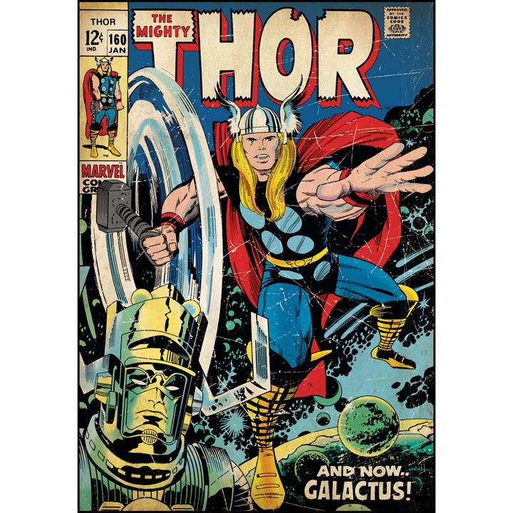 Mighty Thor Comic Cover Giant Wall Decal