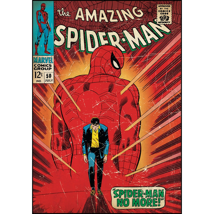Spider-Man Walking Away Comic Cover Giant Wall Decal