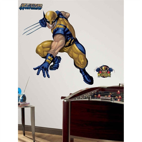 Wolverine Giant Wall Decal