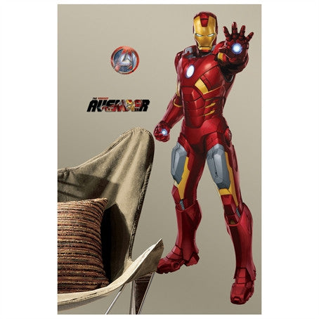 The Avengers Iron Man Giant Wall Decal