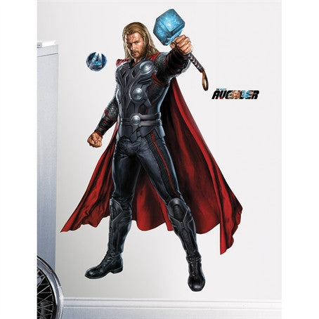 The Avengers Thor Giant Wall Decal