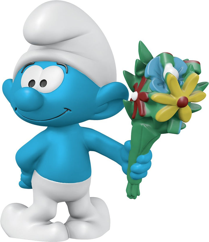 Schleich Smurfs Smurf with Bouquet