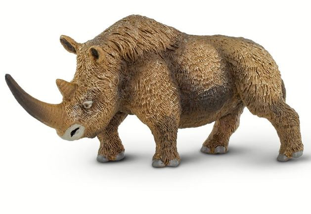Safari Wooly Rhinoceros Figure