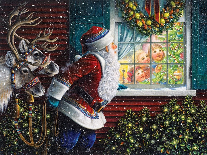 Gifts From Santa Jigsaw Puzzle (500 Piece)