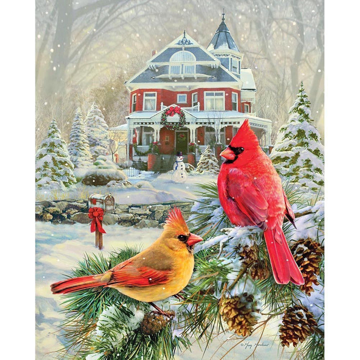 Cardinal Holiday Retreat-1000 pc Puzzle