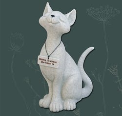 Celia the Cat, Fountasia Resin Sculpture