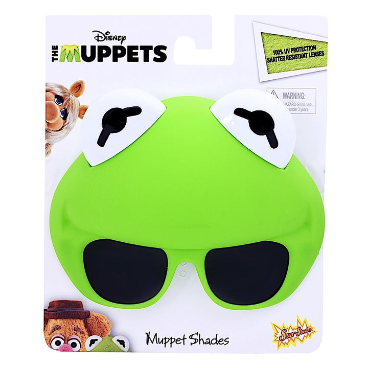 Officially Licensed The Muppets Kermit Sunstaches Sun Glasses