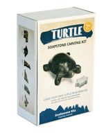 Turtle Soapstone Carving Kit