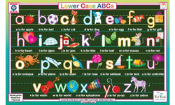 Lowercase ABCs Placemat
