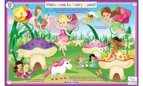 Welcome to Fairyland Placemat