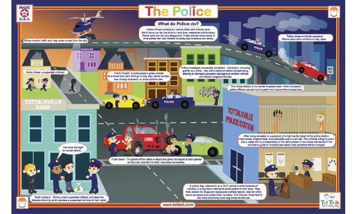 The Police Placemat