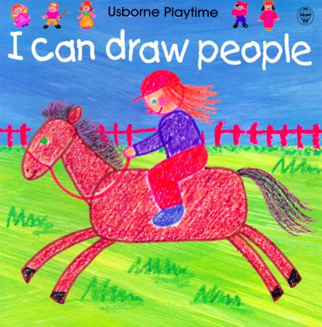 Usbourne Playtime I Can Draw People