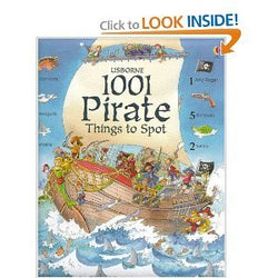 1001 Pirate Things to Spot (Hardcover)
