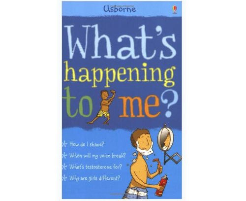 What's Happening to Me? Boy Paperback