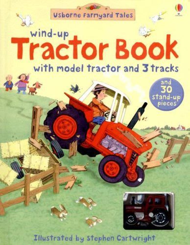 Wind-Up Tractor Book (Usborne Farmyard Tales) Hardcover December, 2007