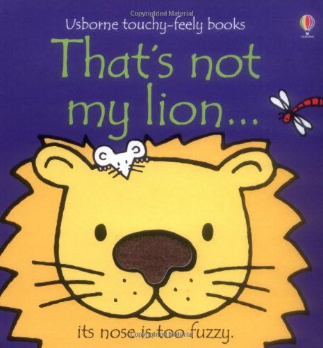 That's Not My Lion Touchy Feely Board Book