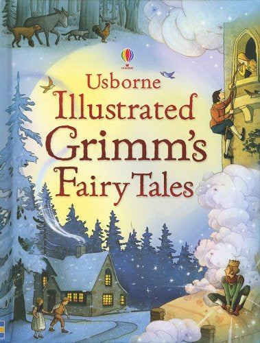 Illustrated Grimm's Fairy Tales Hardback