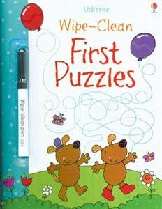 First Puzzles Wipe Clean