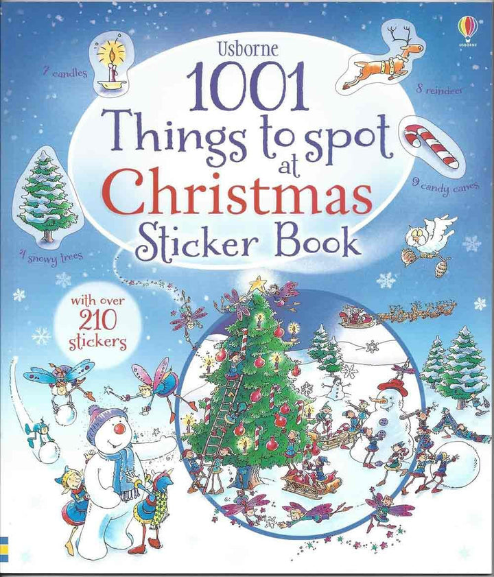 1001 Things to Spot Christmas Sticker Book