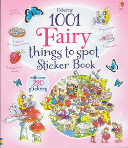 1001 Fairy Things to Spot Usbourne Sticker Book