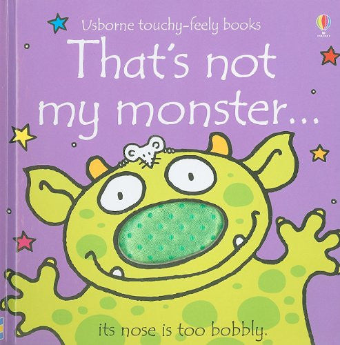 That's Not My Monster Touchy Feely Board Book