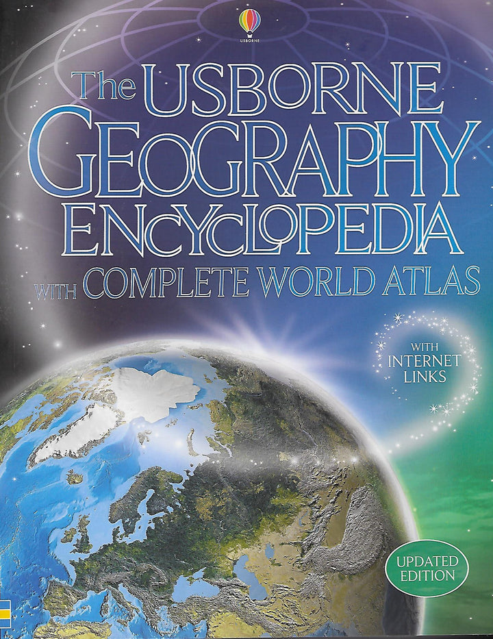 The Usbourne Geography Encyclopedia with Complete World Atlas