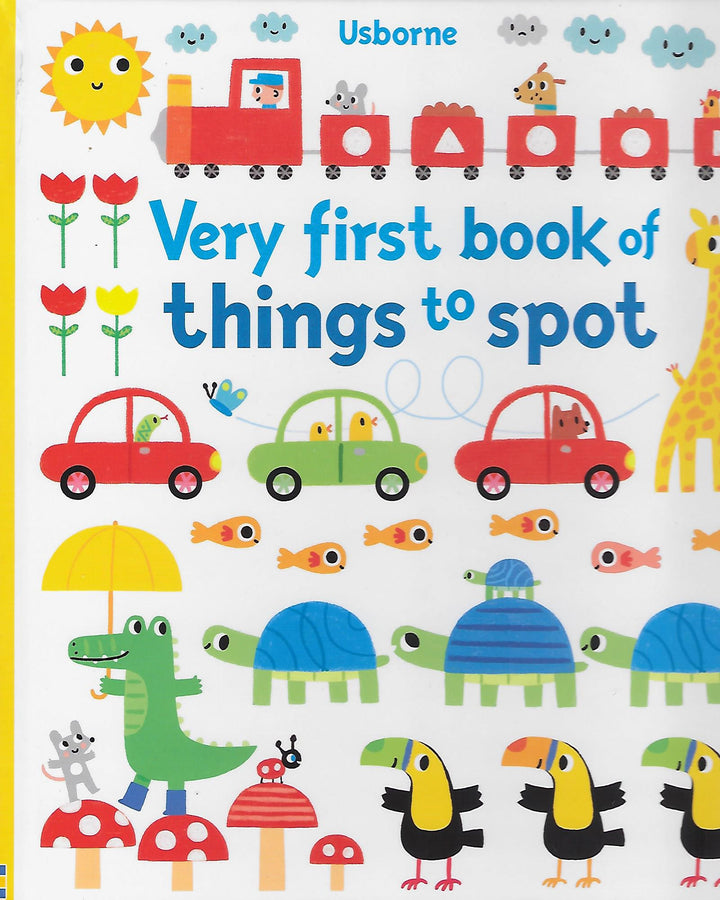 Very First Book of Things to Spot Board book