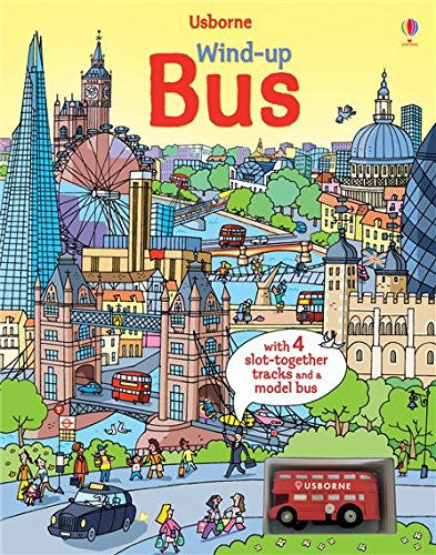 Wind-Up Bus (Wind-Up Books) Board book June, 2014
