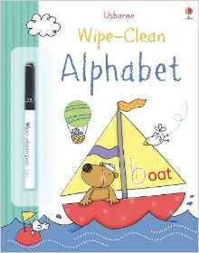 Wipe Clean Alphabet