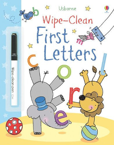 First Letters Wipe Clean