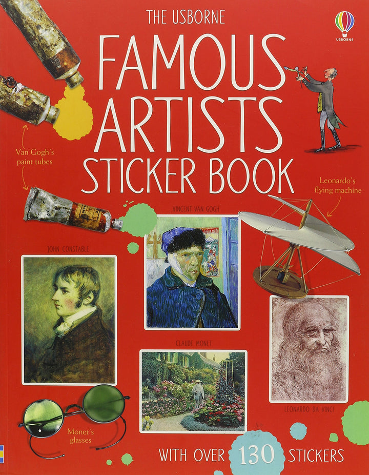 Famous Artists Sticker Book Paperback