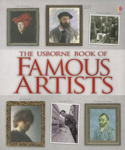 The Usborne Book of Famous Artists Hardcover