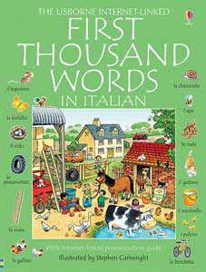 First Thousand Words Italian
